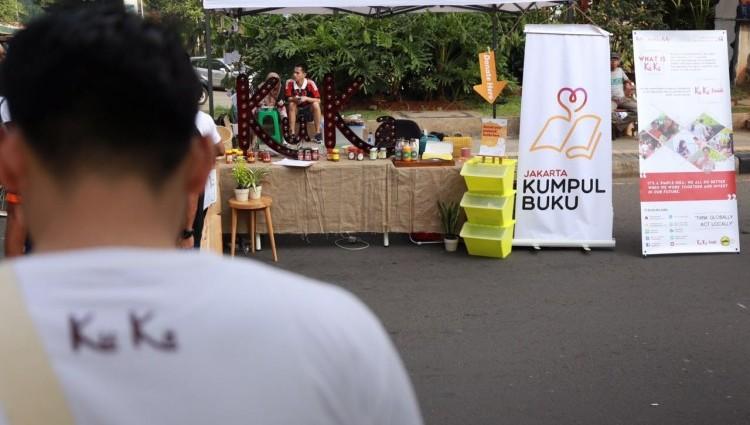 Car Free Day nya Ku Ka dan Jakarta Kumpul Buku