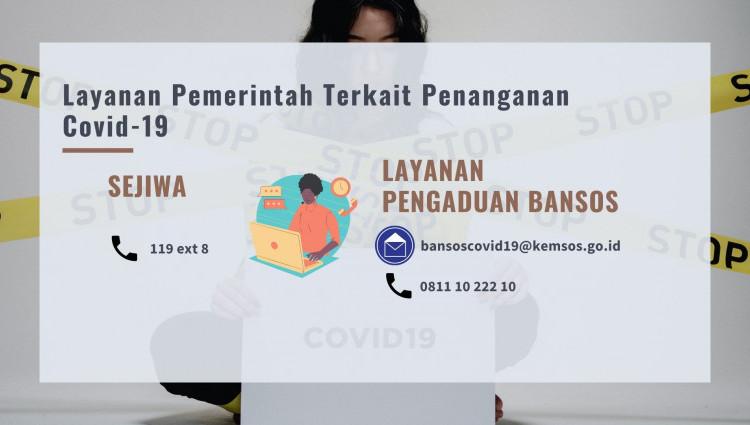 Layanan Pemerintah Terkait Penanganan Covid-19