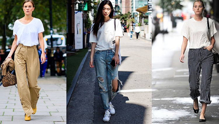Suka Pakai Kaus Putih ? Padukan dengan Bawahan Ini Agar Lebih Stylish